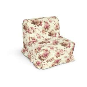 Pokrowiec na fotel Lycksele z kontrafałdami sofa Lycksele 1os. w kolekcji Mirella, tkanina: 141-06