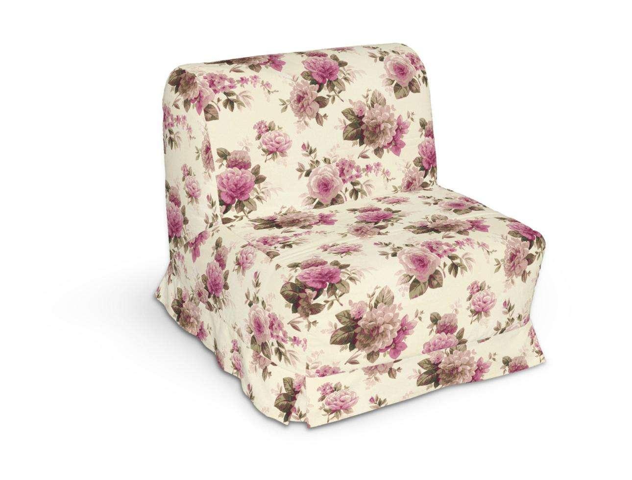 Pokrowiec na fotel Lycksele z kontrafałdami sofa Lycksele 1os. w kolekcji Mirella, tkanina: 141-07