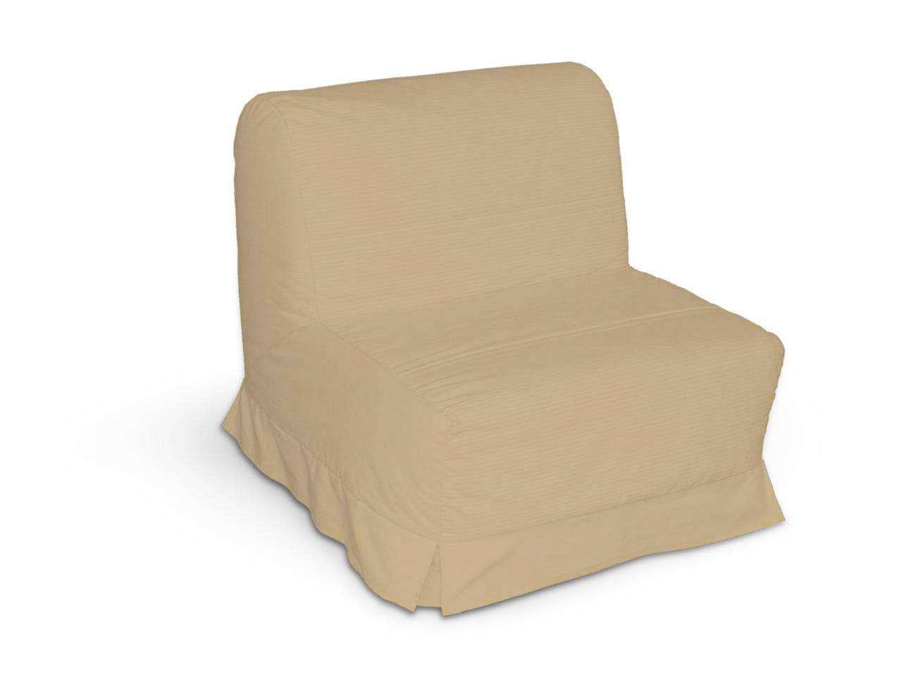 Pokrowiec na fotel Lycksele z kontrafałdami sofa Lycksele 1os. w kolekcji Cotton Panama, tkanina: 702-01