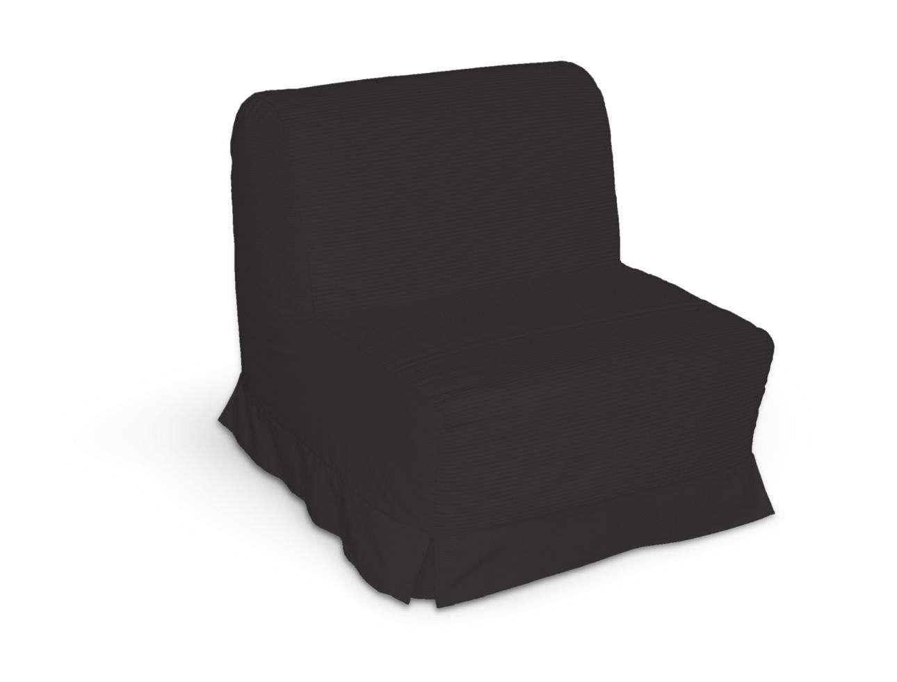 Pokrowiec na fotel Lycksele z kontrafałdami w kolekcji Cotton Panama, tkanina: 702-08