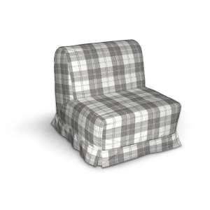 Pokrowiec na fotel Lycksele z kontrafałdami sofa Lycksele 1os. w kolekcji Edinburgh, tkanina: 115-79
