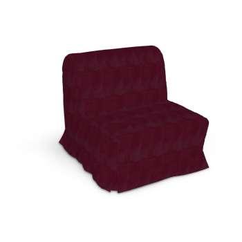Pokrowiec na fotel Lycksele z kontrafałdami w kolekcji Chenille, tkanina: 702-19