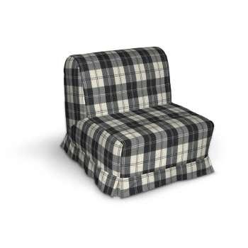 Pokrowiec na fotel Lycksele z kontrafałdami sofa Lycksele 1os. w kolekcji Edinburgh, tkanina: 115-74