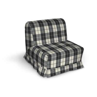 Pokrowiec na fotel Lycksele z kontrafałdami w kolekcji Edinburgh, tkanina: 115-74