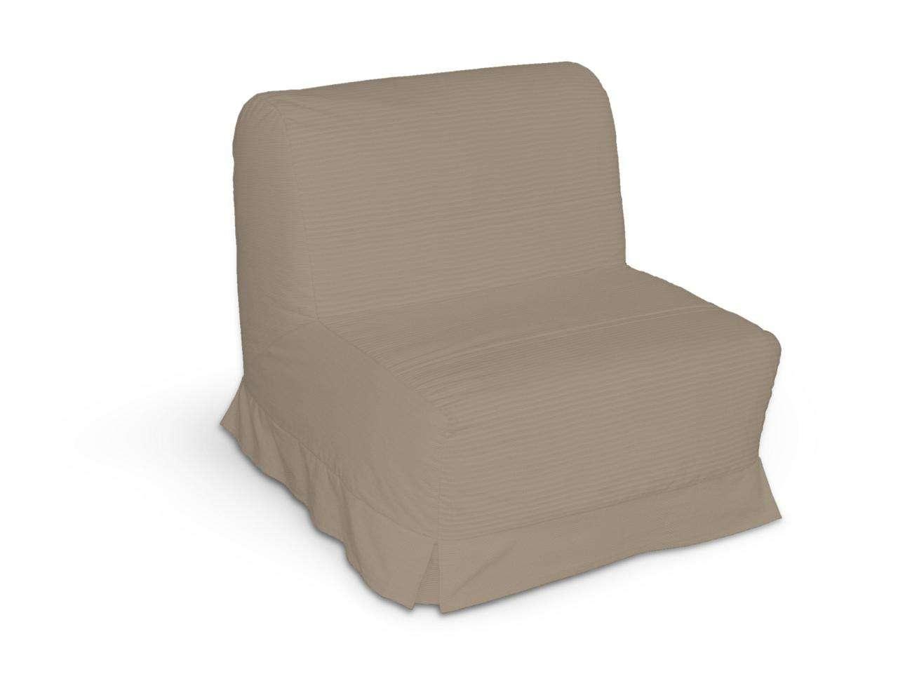 Pokrowiec na fotel Lycksele z kontrafałdami sofa Lycksele 1os. w kolekcji Cotton Panama, tkanina: 702-28