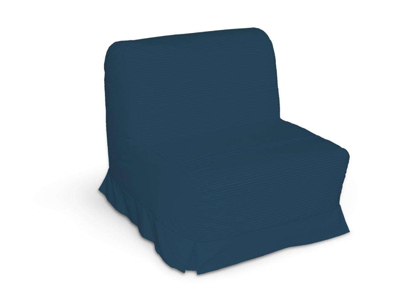 Pokrowiec na fotel Lycksele z kontrafałdami sofa Lycksele 1os. w kolekcji Cotton Panama, tkanina: 702-30