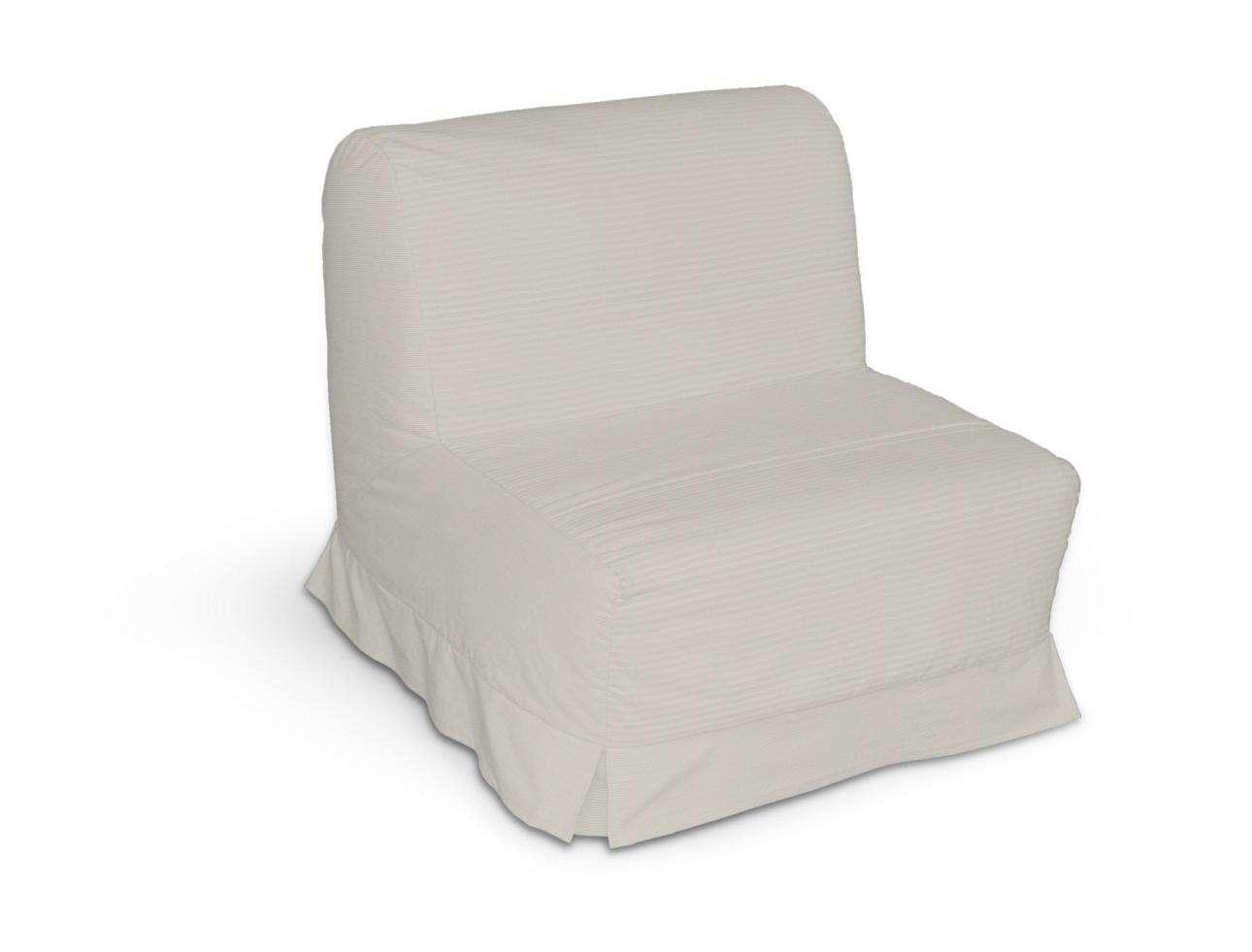 Pokrowiec na fotel Lycksele z kontrafałdami sofa Lycksele 1os. w kolekcji Cotton Panama, tkanina: 702-31