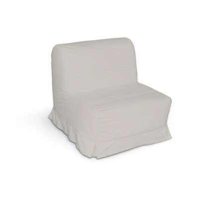 Pokrowiec na fotel Lycksele z kontrafałdami w kolekcji Cotton Panama, tkanina: 702-31