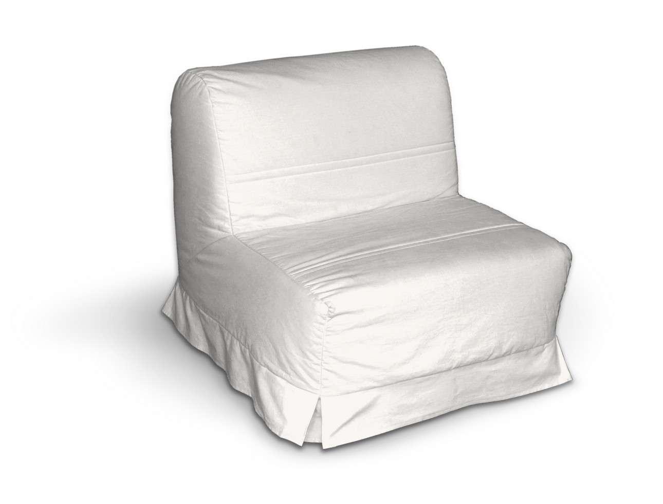 Lycksele Sesselbezug mit Kellerfalten Lycksele von der Kollektion Cotton Panama, Stoff: 702-34