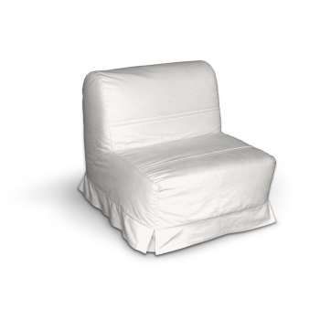 Pokrowiec na fotel Lycksele z kontrafałdami sofa Lycksele 1os. w kolekcji Cotton Panama, tkanina: 702-34