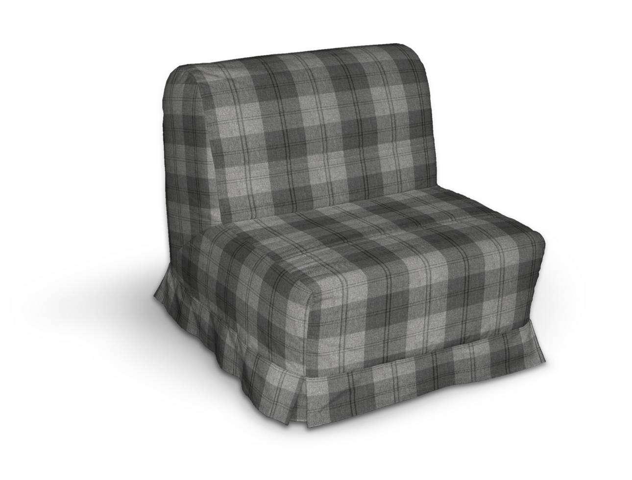 Pokrowiec na fotel Lycksele z kontrafałdami w kolekcji Edinburgh, tkanina: 115-75