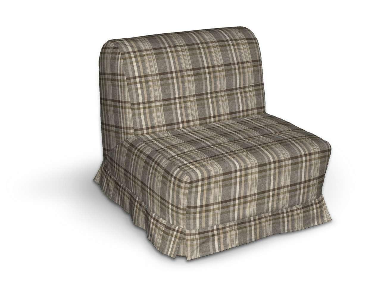 Pokrowiec na fotel Lycksele z kontrafałdami w kolekcji Edinburgh, tkanina: 703-17