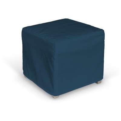 Poťah na kocku Solsta Pällbo 702-30 modrá morská Kolekcia Cotton Panama