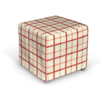 Bezug für Solsta Pällbo 131-15 creme- rot Kollektion Avinon