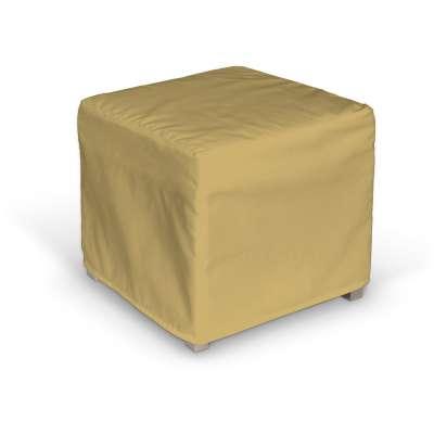 Pokrowiec na kostkę Solsta Pällbo 702-41 zgaszony żółty Kolekcja Cotton Panama