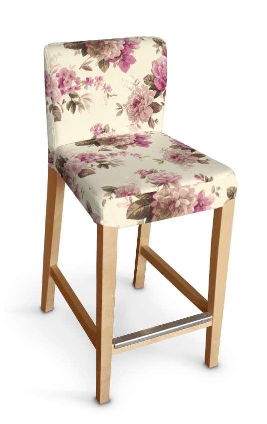 Sukienka na krzesło barowe Henriksdal krótka krzesło barowe Henriksdal w kolekcji Mirella, tkanina: 141-07