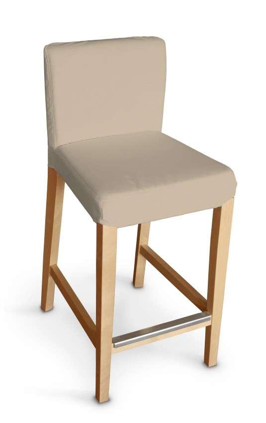 Hendriksdal baro kėdės užvalkalas - trumpas Hendriksdal baro kėdė kolekcijoje Cotton Panama, audinys: 702-01