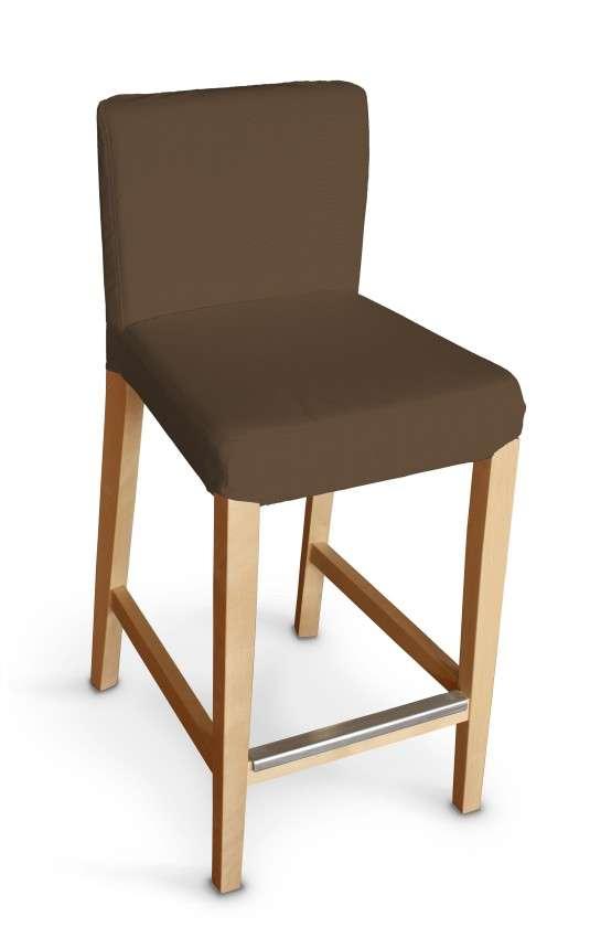 Sukienka na krzesło barowe Henriksdal krótka krzesło barowe Henriksdal w kolekcji Cotton Panama, tkanina: 702-02