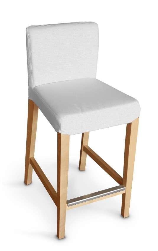 Sukienka na krzesło barowe Henriksdal krótka krzesło barowe Henriksdal w kolekcji Linen, tkanina: 392-04