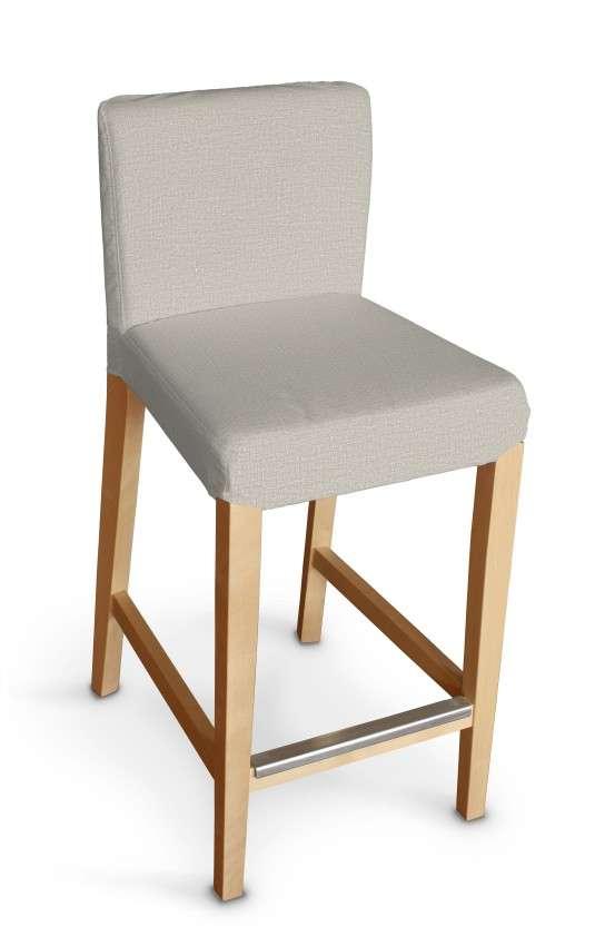 Sukienka na krzesło barowe Henriksdal krótka krzesło barowe Henriksdal w kolekcji Linen, tkanina: 392-05