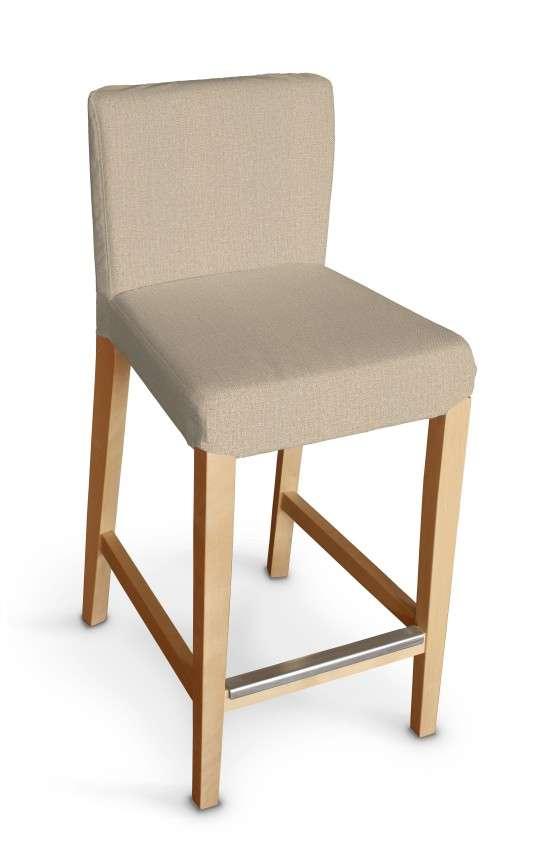 Návlek na barovú stoličku Henriksdal, krátky V kolekcii Edinburg, tkanina: 115-78