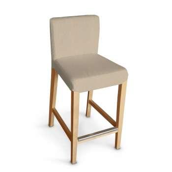 Návlek na barovú stoličku Hendriksdal, krátky V kolekcii Edinburg, tkanina: 115-78