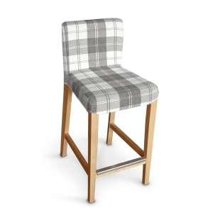 Sukienka na krzesło barowe Henriksdal krótka krzesło barowe Henriksdal w kolekcji Edinburgh, tkanina: 115-79