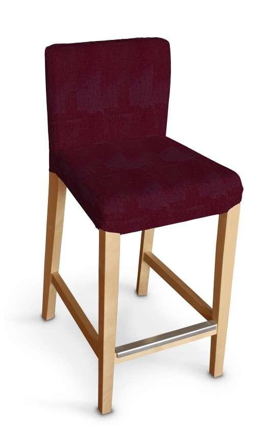 Sukienka na krzesło barowe Henriksdal krótka krzesło barowe Henriksdal w kolekcji Chenille, tkanina: 702-19