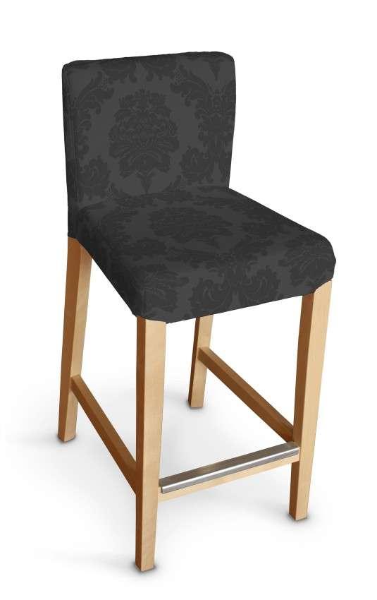 Sukienka na krzesło barowe Henriksdal krótka krzesło barowe Henriksdal w kolekcji Damasco, tkanina: 613-32