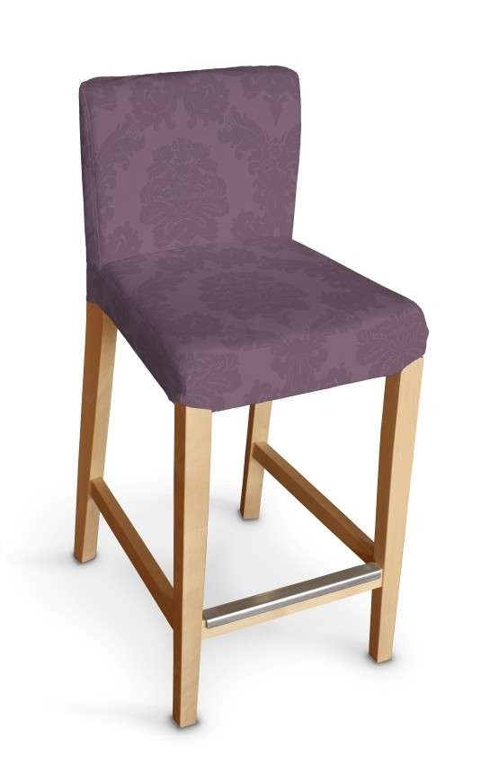 Sukienka na krzesło barowe Henriksdal krótka krzesło barowe Henriksdal w kolekcji Damasco, tkanina: 613-75