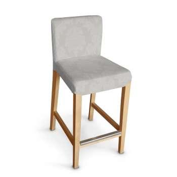 Sukienka na krzesło barowe Henriksdal krótka krzesło barowe Henriksdal w kolekcji Damasco, tkanina: 613-81