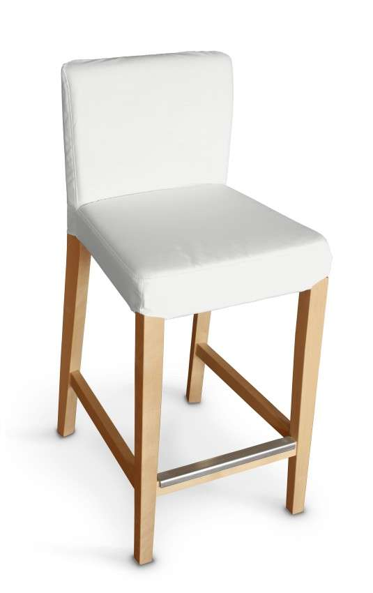 Potah na barovou židli Hendriksdal , krátký v kolekci Loneta, látka: 133-02