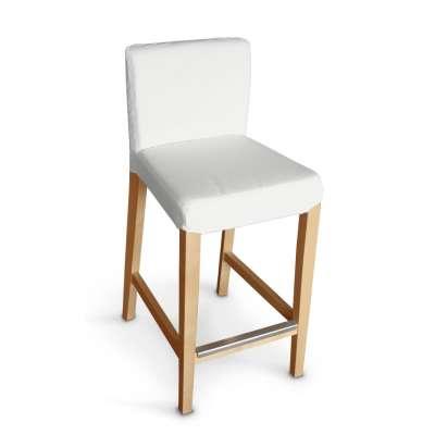 Návlek na barovú stoličku Henriksdal, krátky V kolekcii Loneta, tkanina: 133-02