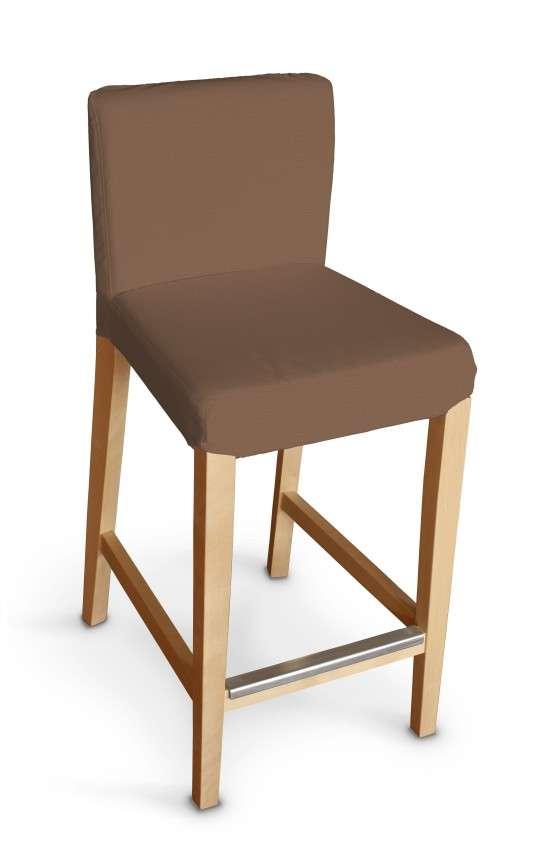 Návlek na barovú stoličku Henriksdal, krátky V kolekcii Loneta, tkanina: 133-09