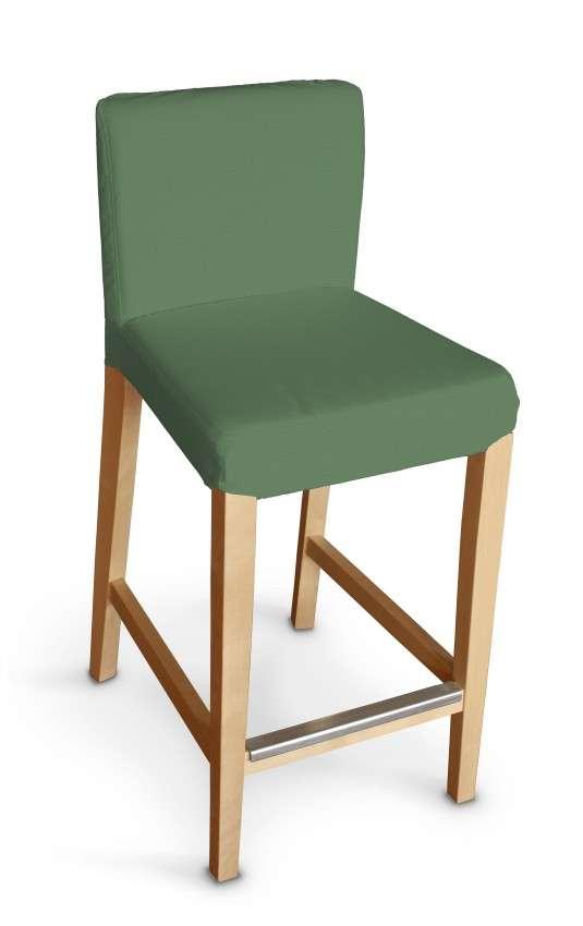 Návlek na barovú stoličku Henriksdal, krátky V kolekcii Loneta, tkanina: 133-18