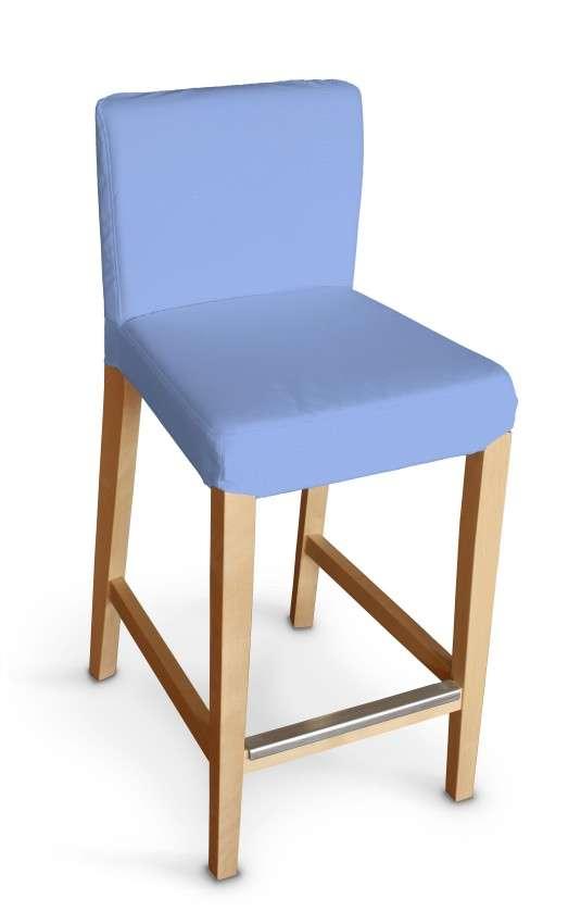 Návlek na barovú stoličku Henriksdal, krátky V kolekcii Loneta, tkanina: 133-21