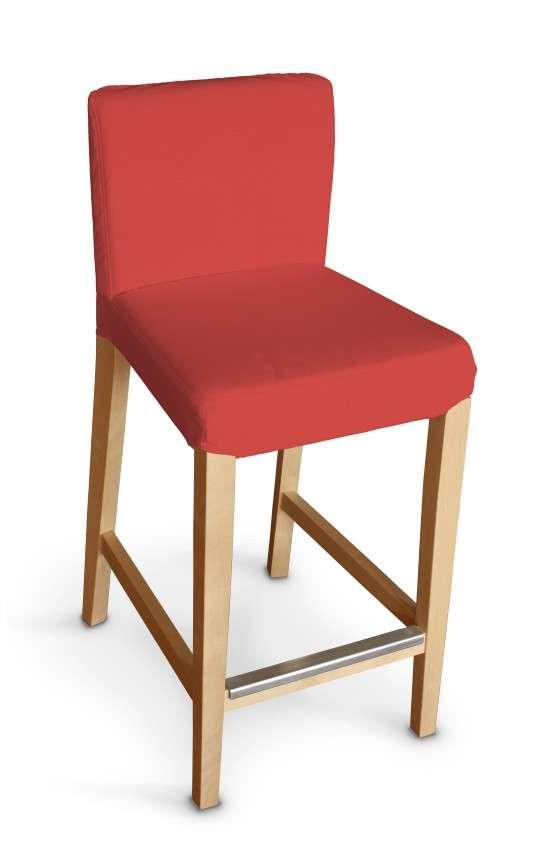 Návlek na barovú stoličku Henriksdal, krátky V kolekcii Loneta, tkanina: 133-43
