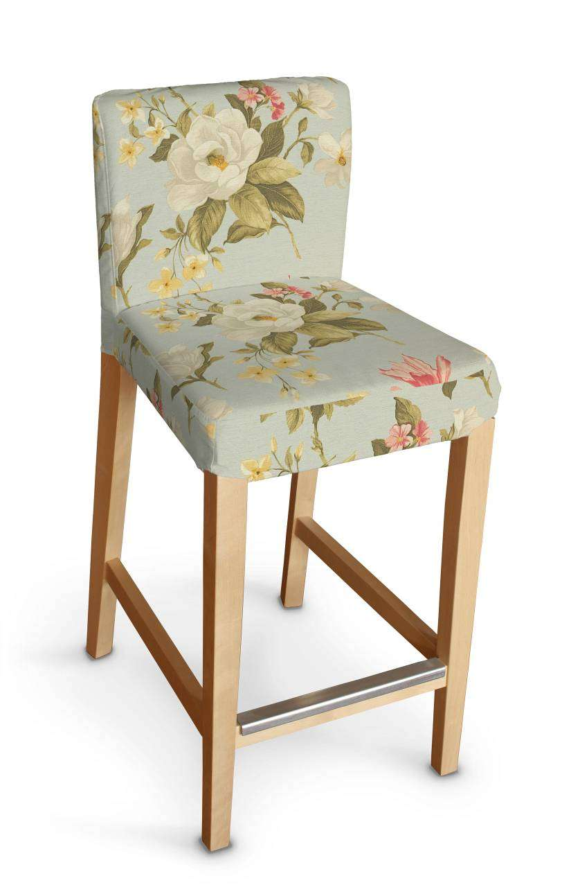 Sukienka na krzesło barowe Henriksdal krótka krzesło barowe Henriksdal w kolekcji Londres, tkanina: 123-65