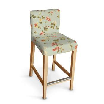 Sukienka na krzesło barowe Henriksdal krótka krzesło barowe Henriksdal w kolekcji Londres, tkanina: 124-65