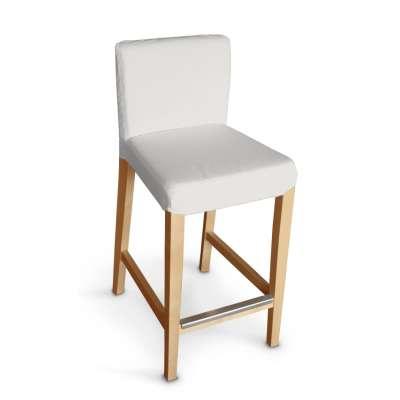 Sukienka na krzesło barowe Henriksdal krótka 705-01 kremowa biel Kolekcja Etna