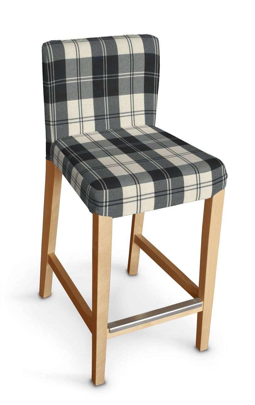 Sukienka na krzesło barowe Henriksdal krótka krzesło barowe Henriksdal w kolekcji Edinburgh, tkanina: 115-74