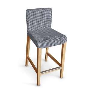 Hendriksdal baro kėdės užvalkalas - trumpas Hendriksdal baro kėdė kolekcijoje Quadro, audinys: 136-00
