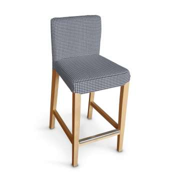 Sukienka na krzesło barowe Henriksdal krótka w kolekcji Quadro, tkanina: 136-00