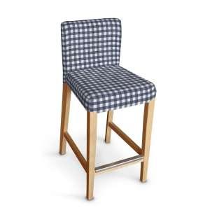Sukienka na krzesło barowe Henriksdal krótka krzesło barowe Henriksdal w kolekcji Quadro, tkanina: 136-01