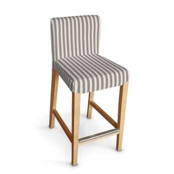 Sukienka na krzesło barowe Henriksdal krótka krzesło barowe Henriksdal w kolekcji Quadro, tkanina: 136-02