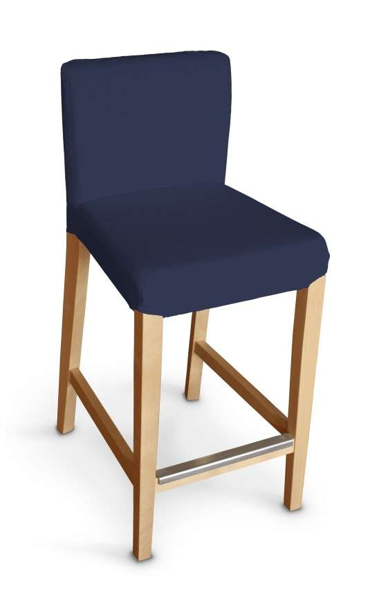 Návlek na barovú stoličku Henriksdal, krátky V kolekcii Quadro, tkanina: 136-04