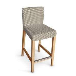 Hendriksdal baro kėdės užvalkalas - trumpas Hendriksdal baro kėdė kolekcijoje Quadro, audinys: 136-05