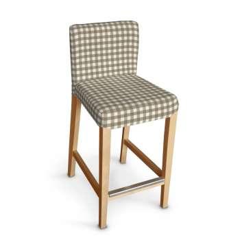 Sukienka na krzesło barowe Henriksdal krótka krzesło barowe Henriksdal w kolekcji Quadro, tkanina: 136-06