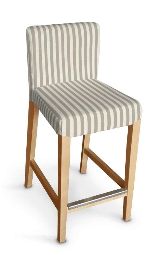 Sukienka na krzesło barowe Henriksdal krótka krzesło barowe Henriksdal w kolekcji Quadro, tkanina: 136-07