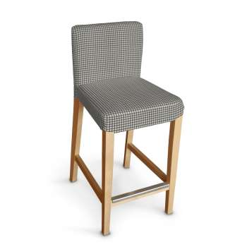 Sukienka na krzesło barowe Henriksdal krótka krzesło barowe Henriksdal w kolekcji Quadro, tkanina: 136-10